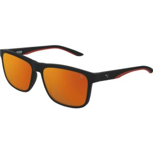 Men's Injection Sunglass - Black/Red