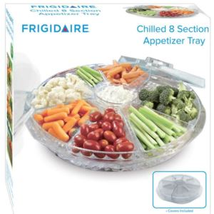 Acrylic Chilled 8-Section Appetizer Tray