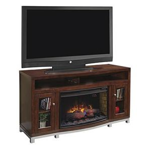 Wesleyan Collection Media Mantel with Infared Fireplace Insert
