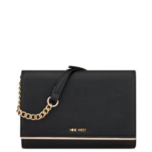 Cecylia Wallet On A String - Black