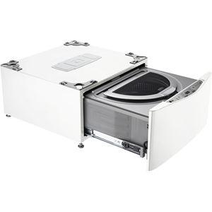 27 In. SideKick Pedestal Washer- White