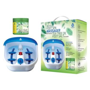 Heated Foot Spa with Massager and Foot Salts