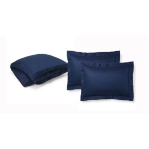 Bedford Jacquard Bedding Set - Highland Navy King