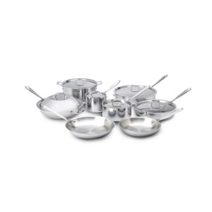 14pc. Stainless Steel Set
