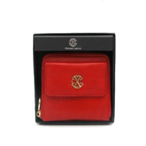 Adela Small Zip Wallet - (Red)