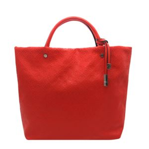 Clemence Tote - (Poppy Red)