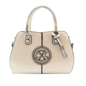 Faustine Satchel - (Off White)