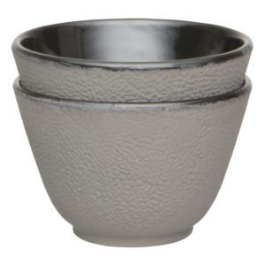 Studio Cast Iron Tea Cup Gray(2x)