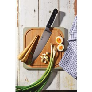 """Essential SS Triple Rivit/ABS Handle Chef's Knife Forged,"""" 8"""""""