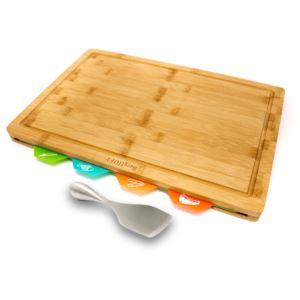 Bamboo 6pc Board Set/Aaron Probyn Cheese Knife
