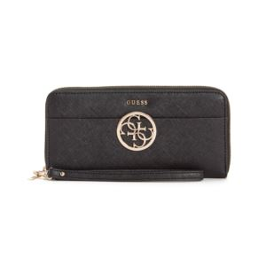 Kamryn Large Zip Around Wallet - Black