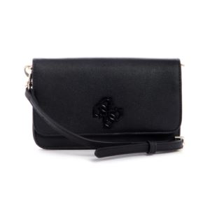 Noelle Wallet On A String - Black