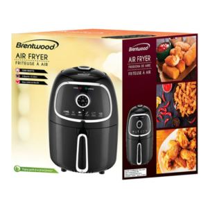 2 - Quart Electric Air Fryer with Timer and Temp Control - (Black)