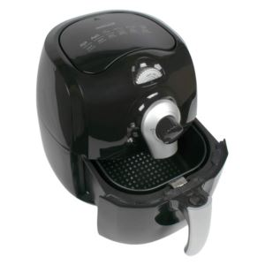 3.6 Quart Electric Air Fryer with Tmer and Temp Control - (Black)