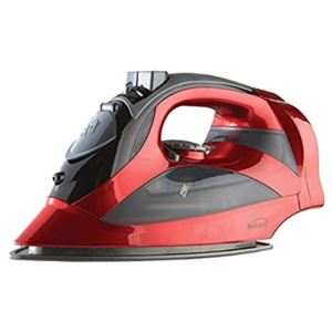 Steam Iron with Retractable Cord - (Red)