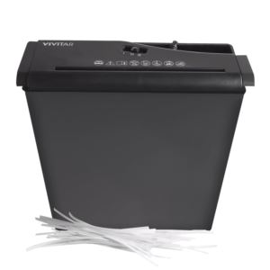 6-Sheet Strip Cut Shredder