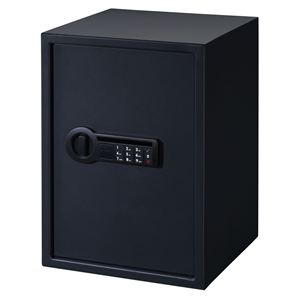 Super Size Personal Safe with Electronic Lock in Black