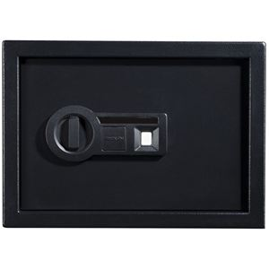 Personal Safe with Biometric Lock in Black