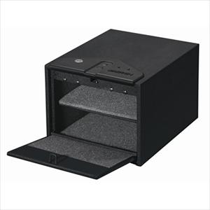 Quick Access Safe with Biometric Lock in Black