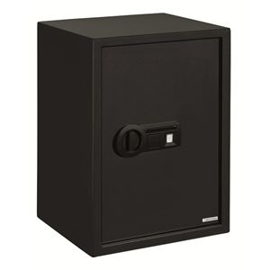 Extra Large Personal Safe with Biometric Lock in Black