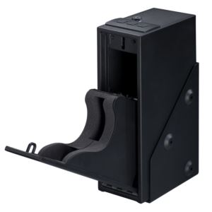 Single Pistol Quick Access Safe with Electronic Lock in Black