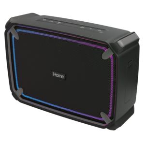 Shockproof/Waterproof Portable BT Speaker w/ Lights