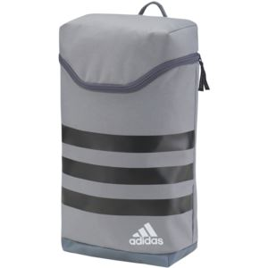 Adidas 3-Stripes Shoe Bag - Grey/Black-