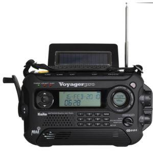 Voyager Pro Digital Solar Dynamo Crank Radio w/ NOAA