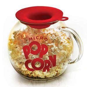 Micro Pop Glass Popcorn Popper w/ Silicone Measuring Lid