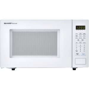 Carousel 1.1 Cu. Ft. 1000W Countertop Microwave Oven in White (ISTA 6 Packaging)