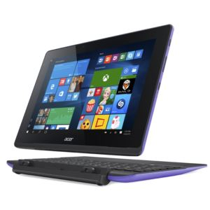 """10.1"""" Aspire Switch 2-in-1 Convertible Tablet-Purple"""