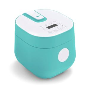 Go Grains Healthy Ceramic Rice Cooker Turquoise