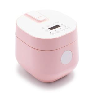 Go Grains Healthy Ceramic Rice Cooker Pink