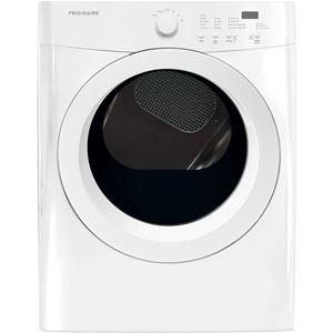 7.0 Cu. Ft. Front Load Gas Dryer - White