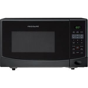 0.9 Cu. Ft. 900W Countertop Microwave in Black