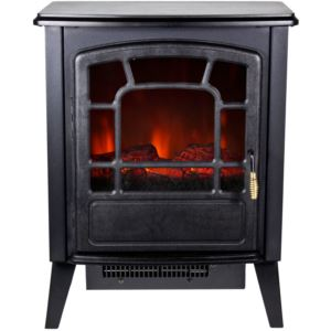 Bern 1400W Freestanding Electric Fireplace