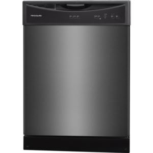 24 In. Built-In Dishwasher - Black Stainless Steel