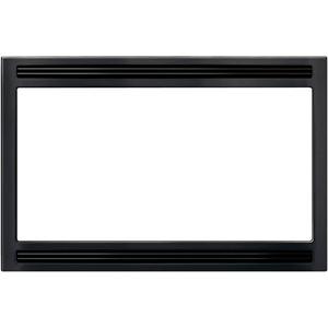 27 In. Microwave Trim Kit - Black