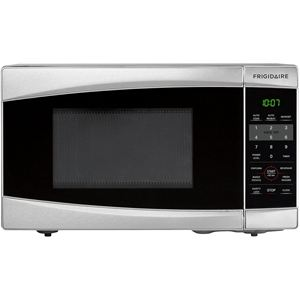 0.7 Cu. Ft. Countertop Microwave - Stainless Steel
