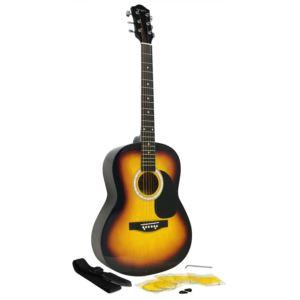 Martin Smith full size guitar W100 Sunburst