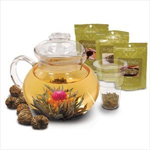 Flowering Tea Set