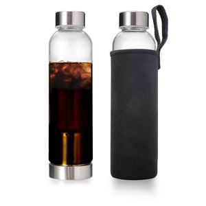 Cold Brew Iced Coffee Bottle On The Go