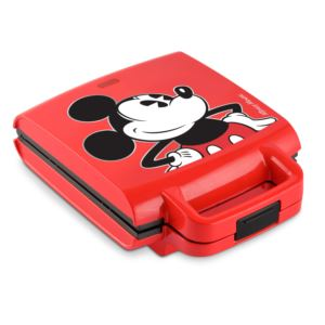 Mickey Mouse Waffle Maker w/ Mickey Shapes