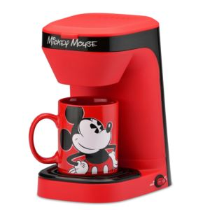 Mickey Mouse Coffeemaker w/ Mug
