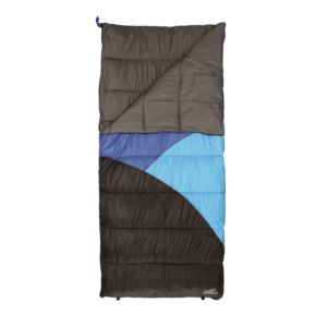 Caribou Creek Sleeping Bag Blue/Black