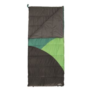 Caribou Creek Sleeping Bag Green/Black