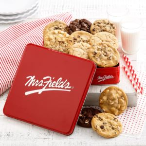 Mrs Fields Classic Cookie Tin