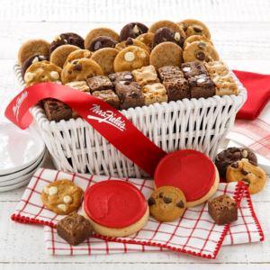 Mrs Fields Sweet Sampler Basket