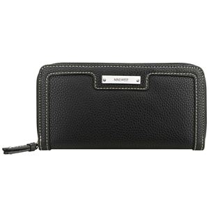 Table Treasures Small Zip Around Wallet - Black