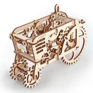 Ugears Tractor 3D Wood Model